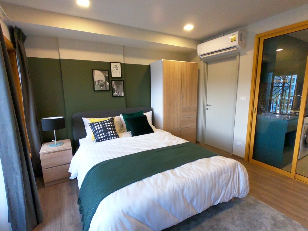 For RentCondoOnnut, Udomsuk : The Base Sukhumvit 50 condo for rent, new room with appliances, fully furnished