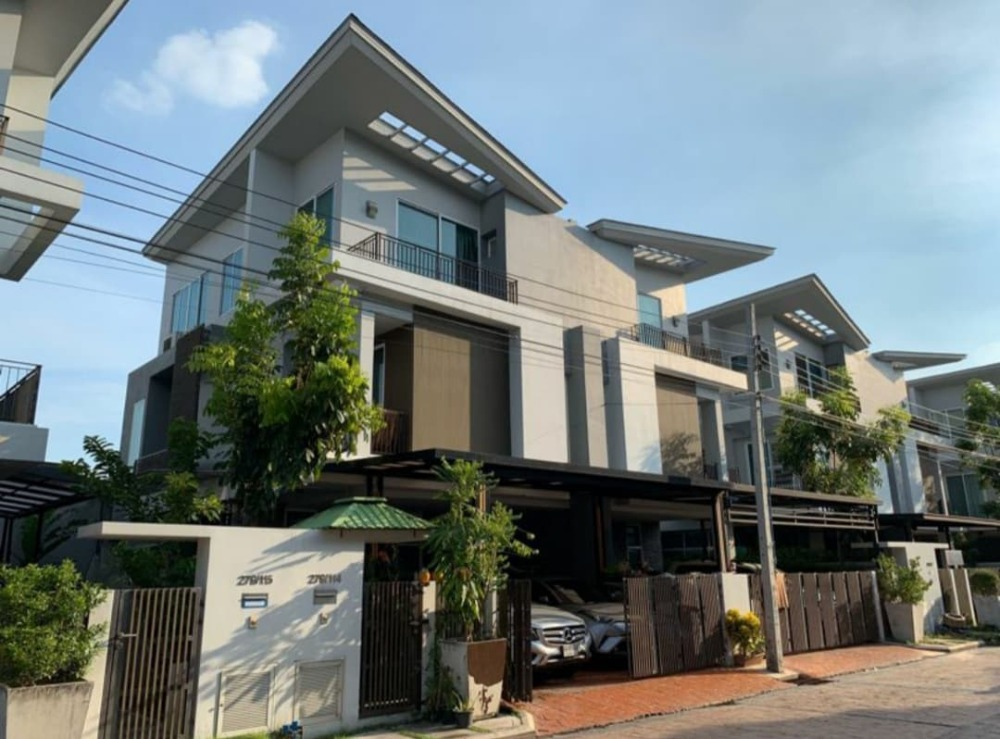 For SaleHouseVipawadee, Don Mueang, Lak Si : 3-storey house for sale in Grand I-Design, Vibhavadi, GRAND I-DESIGN VIBHAVADI