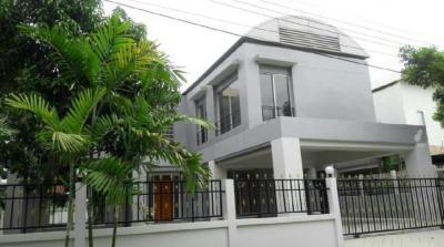 For SaleHouseSamrong, Samut Prakan : ขายบ้านใหม่ บ้านเดี่ยว 2 ชั้น 99 ตารางวา ม.โนเบิลปาร์ค ซอยวัดหลวงพ่อโต บางพลี สมุทรปราการ สวย ถูก ทำเลทอง