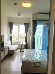 For RentCondoRatchadapisek, Huaikwang, Suttisan : For rent Chapter One Eco ratchada Huai Khwang, fully furnished, glass room partition There is a washing machine.