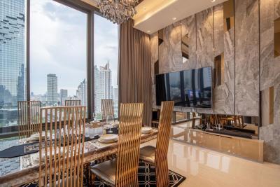For RentCondoSilom, Saladaeng, Bangrak : ✅ For Rent ** ASHTON Silom - Ashton Silom, very beautiful decoration, city view, ready to move in **