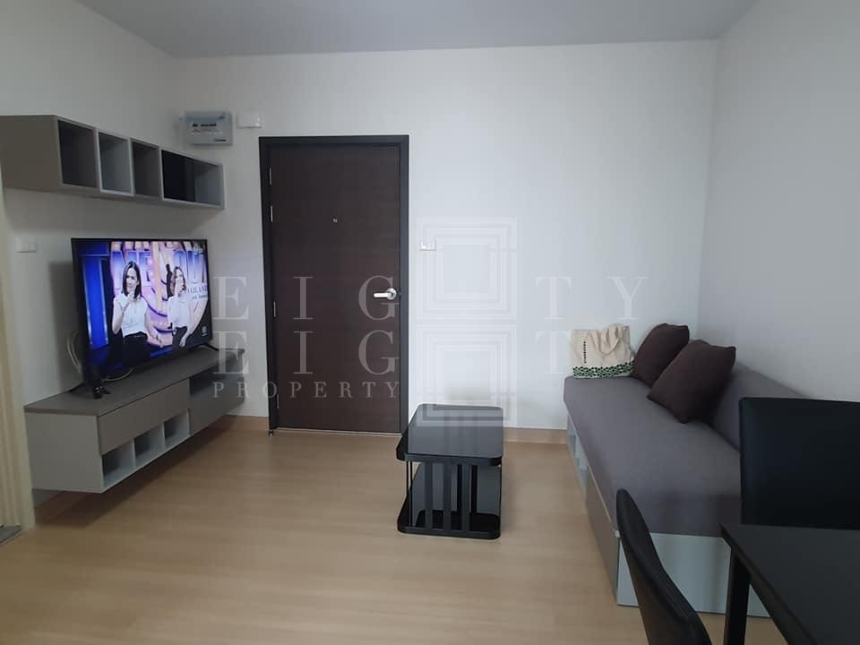 For RentCondoRama9, RCA, Petchaburi : For Rent Supalai Veranda Rama 9 (39 sqm.)