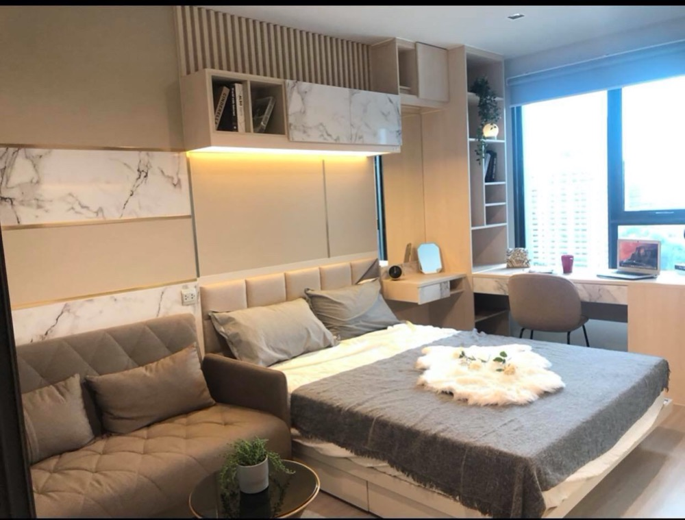 For RentCondoLadprao, Central Ladprao : N2[1037]RENT Life Ladprao 18th Floor (nice view)