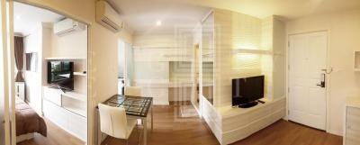 เช่าคอนโดพระราม 9 เพชรบุรีตัดใหม่ : For Rent Lumpini Place Rama 9-Ratchada (34 sqm.)
