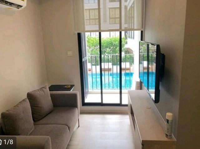 For RentCondoRatchadapisek, Huaikwang, Suttisan : For rent, 1 bedroom luxury condo, 30 square meters, Maestro 03 Ratchada Soi 3, near MRT Rama 9.