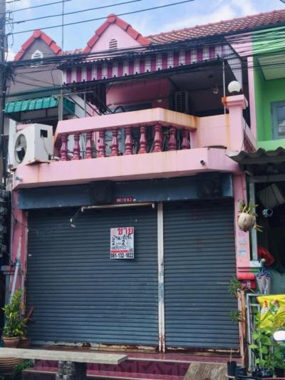 For SaleTownhouseSamrong, Samut Prakan : Urgent sale Townhouse Chat Village, Narong Phraek Sa