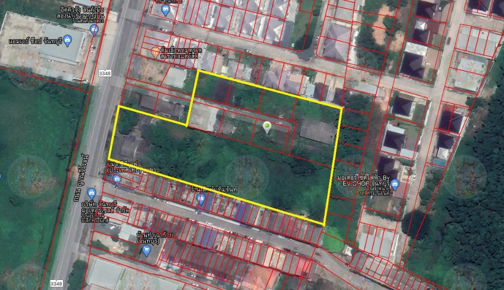 For SaleLandChanthaburi : Land for sale near Robinson Chanthaburi 6 rai (next to property).