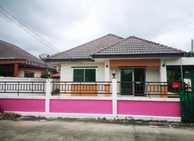 For SaleHouseRayong : House for sale in a smart size 73.5 sq.wah, Smart land Green park, Map Yang Phon, Pluak Daeng, Rayong