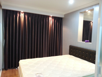 For RentCondoRama9, RCA, Petchaburi : [A62] ** Discounted price 13,000 baht for rent Condo Lumpini Place Rama 9-Ratchada, Lumpini Place Rama 9 - Ratchada, Building B, high view, 30th floor, 37 sq.m., near Rama 9 MRT