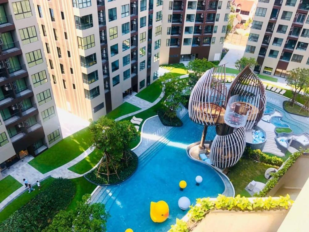 For SaleCondoOnnut, Udomsuk : Everything is free !! Elio Del Nest, best price starts at 2.09 million baht, 1st hand room, fully furnished, 100% recovery, call 0891676755