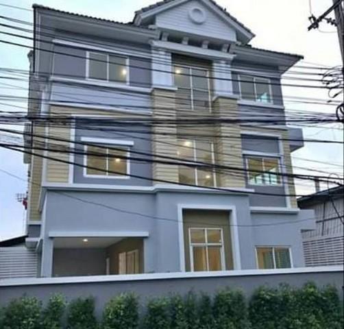 For RentTownhouseLadprao101, The Mall Bang Kapi : RT419ให้เช่าทาวน์โฮม 3 ชั้น 44.7 ตารางวา 3 ห้องนอน 3  โพธิ์แก้ว 3 ลาดพร้าว101