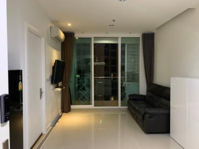 For SaleCondoRama9, RCA, Petchaburi : For Sale Condo TC Green near MRT Rama 9, Fully Furnished and Facilitators with good view and location