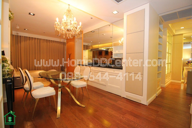 For SaleCondoWitthayu,Ploenchit  ,Langsuan : For sale! The Address Chidlom Condo , corner unit, 2 bedrooms, near Central Chidlom and BTS Chidlom