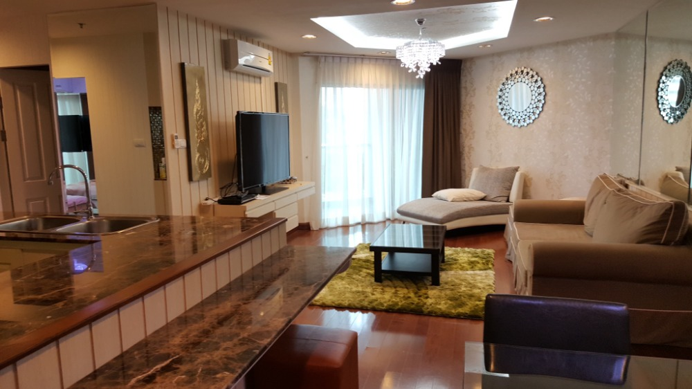 For SaleCondoRama9, RCA, Petchaburi : S210031 * Sale with tenant SALE With Tenant Type 2 bed 1 bath 88sqm, 8th at Building C, Plz contact for more information