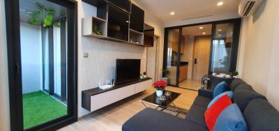 For RentCondoOnnut, Udomsuk : For Rent Kawa HAUS Condo 1 Bed 37.25 Sq.m. Garden View
