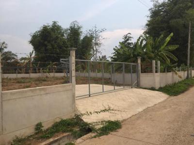 For RentLandRoi Et : Land for long-term rent in Selaphum District, Roi Et, has a fence 274 sq.m .. Quick, cheap.