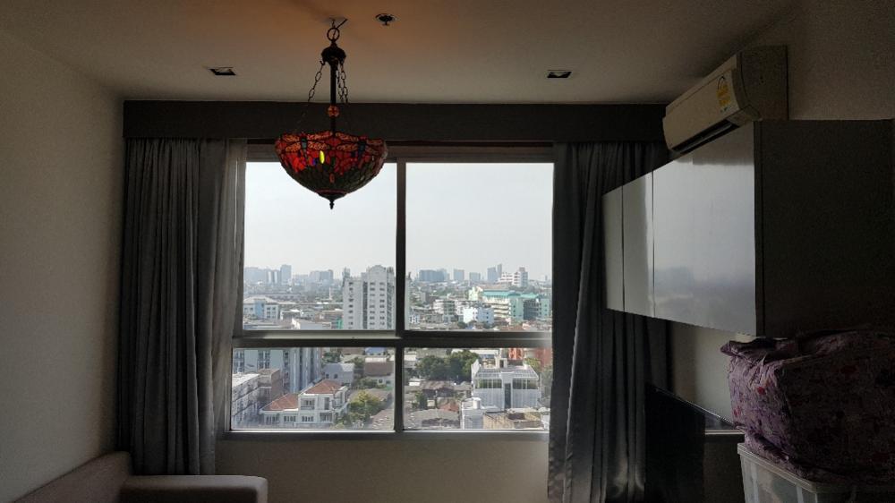 ขายคอนโดวงเวียนใหญ่ เจริญนคร : ขายดีบุรา 1 ห้องนอน 37.5ตรม ชั้น13ห้องมุม 3.69ลบ วิวเมือง
