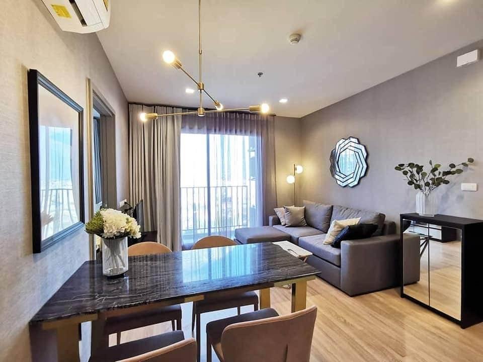 เช่าคอนโดพระราม 9 เพชรบุรีตัดใหม่ : +++ เช่าด่วน ห้องสวย+++ THE BASE Garden-Rama 9 *, 2 ห้องนอน ขนาด 51  ตร.ม. แต่งครบพร้อมอยู่