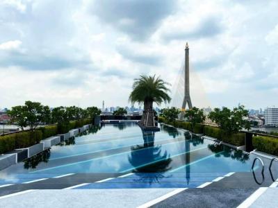 For RentCondoRama 8, Samsen, Ratchawat : Condo for rent at Chateau In Town Rama 8, near Chao Phraya River, near Siriraj