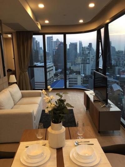 เช่าคอนโดสยาม จุฬา สามย่าน : Ashton Chula For rent ห้องสวย วิวไม่บล็อค