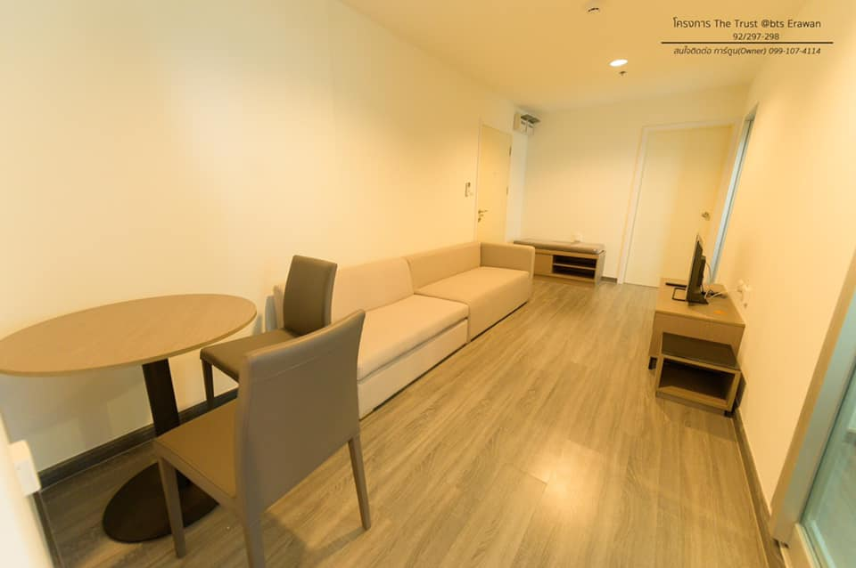 For RentCondoSamrong, Samut Prakan : For Rent The Trust Condo Erawan (BTS Erawan)