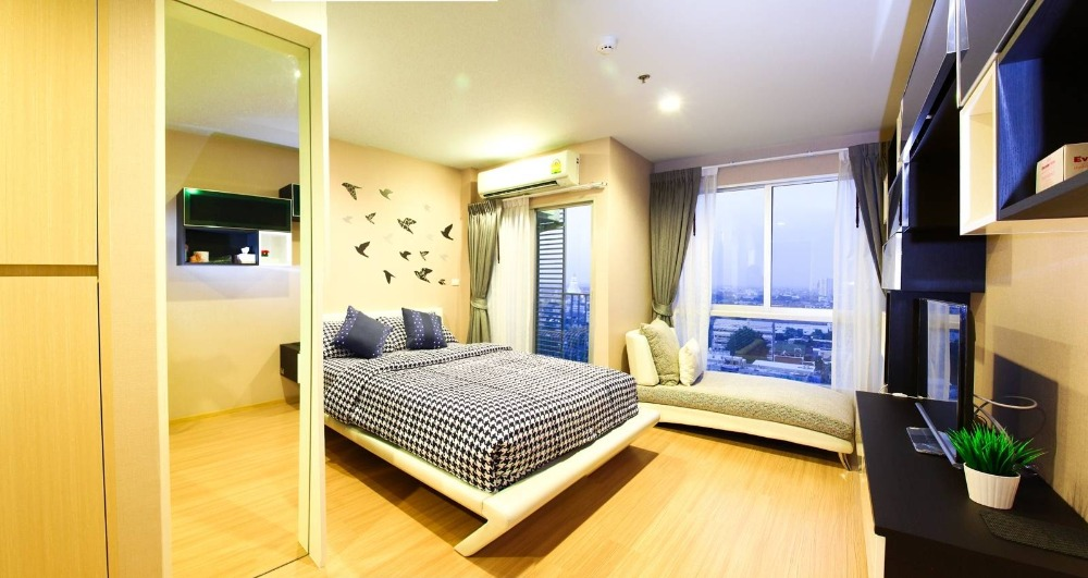For SaleCondoThaphra, Wutthakat : Condo for Casa Condo Ratchada - Ratchaphruek   fully furnished. Size 26 SQM.  studio room 1 bath.