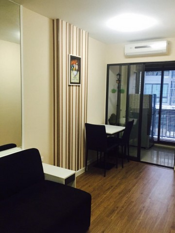 For SaleCondoOnnut, Udomsuk : KP4-0109 For Rent / Sale Icondo Sukhumvit 103, Fully furnished, Ready to move in