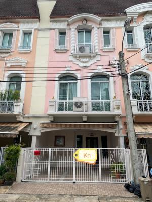 เช่าทาวน์เฮ้าส์/ทาวน์โฮมเลียบทางด่วนรามอินทรา : ให้เช่าทาวน์โฮมเล่นระดับ 3 ชั้น หมู่บ้านกลางเมือง แกรนด์ เดอ ปารีส รัชดา Baan Klang Muang Grand de Paris Ratchada บ้านทาวน์โฮมเล่นระดับ พร้อมอยู่