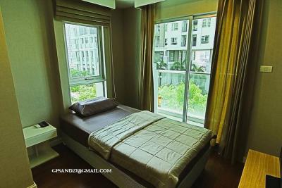 เช่าคอนโดพระราม 9 เพชรบุรีตัดใหม่ : เบล แกรนด์ พระราม 9 ห้องไซต์ใหญ่มาก คุ้มสุดๆแบบ 2 ห้องนอน 2 น้ำ เช่าเพียง 45,000 ด่วนน!