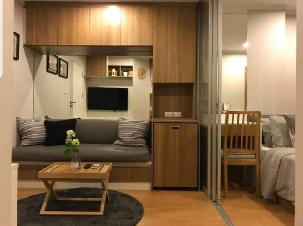 For RentCondoPattanakan, Srinakarin : For rent Lumpini place Srinakarin - Huamak 18th fl. 26 sq.m 9,500฿ Tel. 0812580588