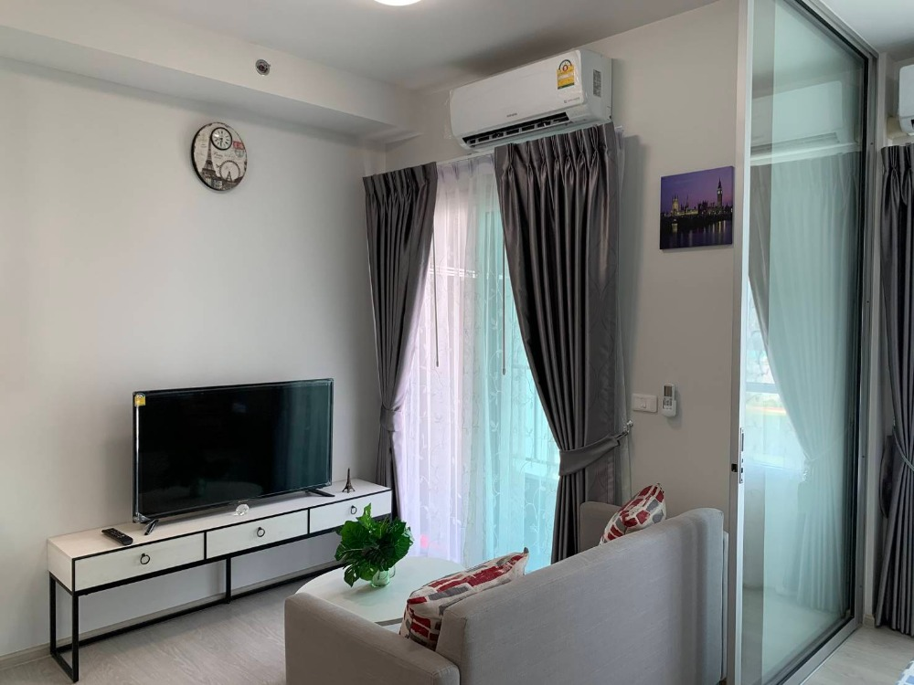 For RentCondoBang Sue, Wong Sawang : [A66] ** Discounted at 9,800 B. Condo for rent Chapter One Shine Bangpo, size 29 sq.m., 12th floor, beautiful view of Chao Phraya River, near Bang Pho 700 meters