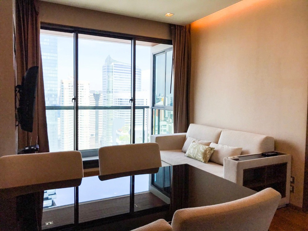 For RentCondoSathorn, Narathiwat : FOR RENT : The Address Sathorn 2bed 2bath Near BTS Chong Nonsi