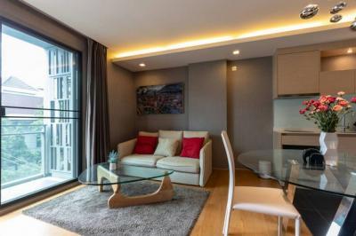 For RentCondoSukhumvit, Asoke, Thonglor : AE0252 Condo for rent, VIA BOTANI by sansiri, Sukhumvit 47, size 47 sq m, 3rd floor with furniture.