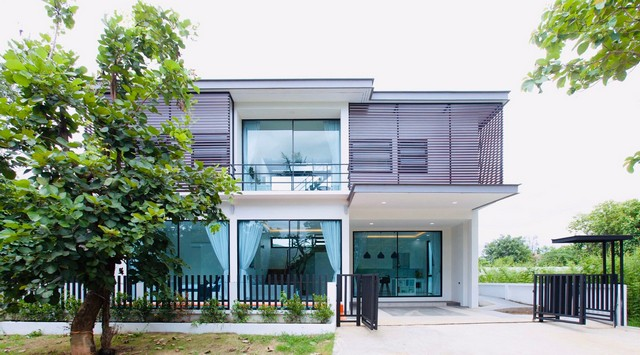 For SaleHouseChiang Mai, Chiang Rai : AE0255 Luxury 2 storey house for sale, 54 square meters, Modern Pool Villa near Ram Poeng Temple, Suthep Subdistrict, Mueang Chiang Mai