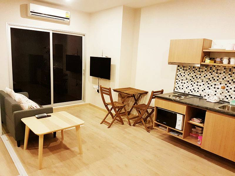 For RentCondoThaphra, Wutthakat : Condo for rent  The Tempo Grand Sathorn - Wutthakat  fully furnished (Confirm again when visit). Size 34 SQM.  1 bed1 bath.