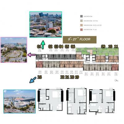 ขายดาวน์คอนโดรามคำแหง หัวหมาก : ขายใบจอง Modiz Rhyme Ramkhamhaeng ทำเลดีที่สุดของม.รามคำแหง ห้องโปร ห้องเทพ ห้องวิวสวน ตร.ม.ละ 8x,xxx บาท
