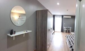 For RentCondoOnnut, Udomsuk : Regent Home 19 condo for rent, Sukhumvit 93, 8th floor, private city view, near Bang Chak BTS