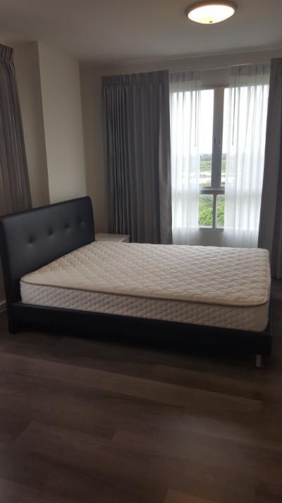 เช่าคอนโดบางนา แบริ่ง : Condo for rent!! D Condo ABAC Bangna **Corner Room** Fl. 7th Full Furniture 8,000 Baht/month