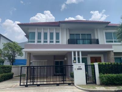 เช่าบ้านพระราม 9 เพชรบุรีตัดใหม่ : ให้เช่า บ้านเดี่ยว โครงการ แกรนด์ บางกอก บูเลอวาร์ด 1 พระราม9 -ศรีนครินทร์ ถนนกรุงเทพกรีฑา