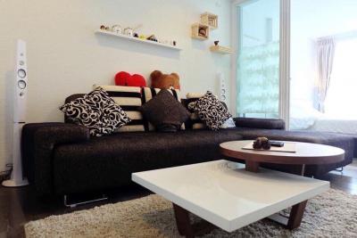 For RentCondoOnnut, Udomsuk : + + + + + + + + + + + + + + + + + + + + + + + + + + Quick rental +++ SARI by Sansiri Sukhumvit64 * 1 bedroom, 36 sq.m., 6th floor, fully furnished, ready to move in