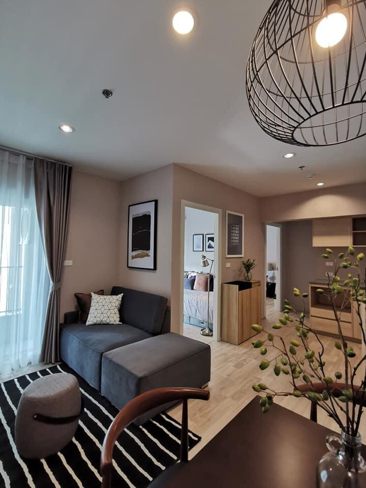 For RentCondoVipawadee, Don Mueang, Lak Si : + + + + For quick rental + +++ Plum Condo *, 2 bedrooms, 39 sq.m., fully furnished.