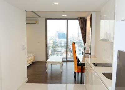 ขายคอนโดสาทร นราธิวาส : ขายคอนโดโครงการ Nara 9 ขนาด 1 ห้องนอน ชั้นสูง ราคาพิเศษ ใกล้บีทีเอสช่องนนทรี
