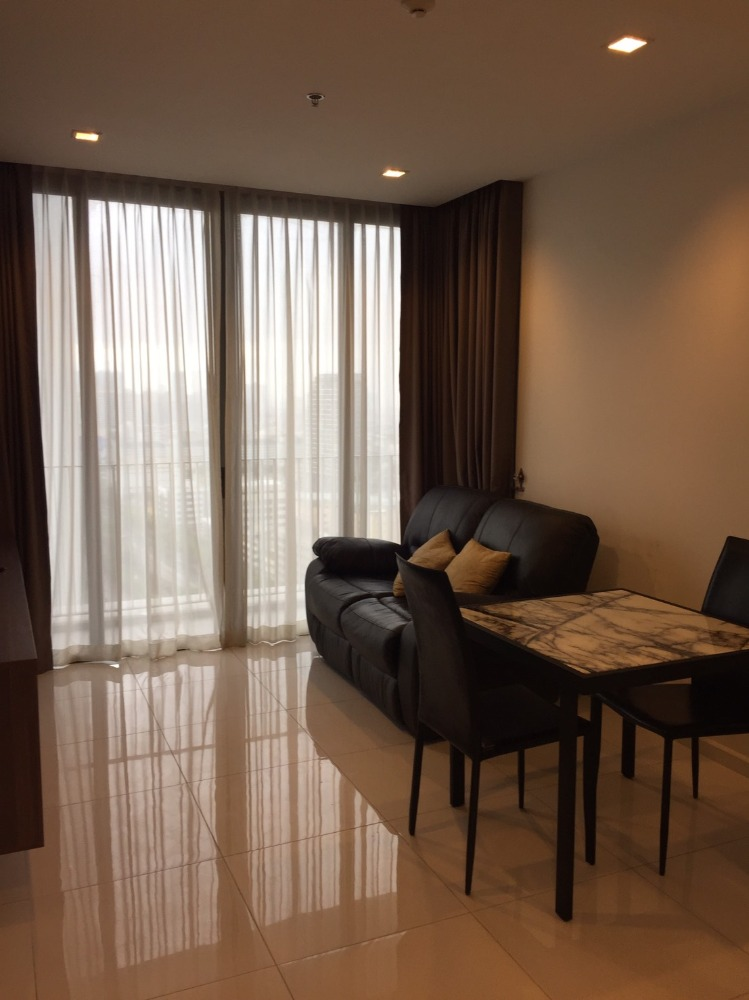 For SaleCondoSathorn, Narathiwat : Nara 9 condo project, 1 bedroom size 43 square meters, high floor, special price 6.5MB