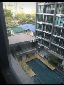 For RentCondoOnnut, Udomsuk : For Rent CondoSerio Sukhumvit 50 1 Bed 33 sq.m Near BTS Onnut Rental fee 14,000-Only