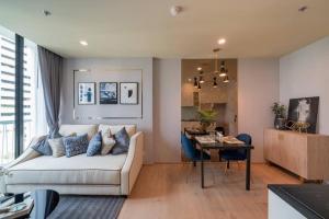 For RentCondoSukhumvit, Asoke, Thonglor : ++Urgent rent+++ Noble Recole Sukhumvit19 **1 bedroom, size 35 sq.m., fully furnished, ready to move in.