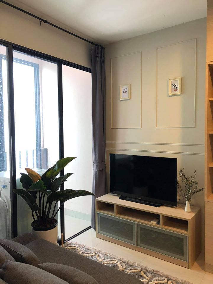 For SaleCondoRatchadapisek, Huaikwang, Suttisan : Very nice room, room partition, ready to move in. Ideo Ratchada Huay Kwang