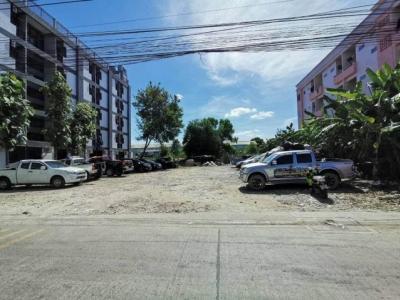 For SaleLandRamkhamhaeng,Min Buri, Romklao : ขายที่ดินถมแล้ว 200 ตารางวา ย่านกรุงเทพกรีฑา เหมาะทำอพาร์ทเม้น ใกล้เลียบมอเตอร์เวย์ ใกล้ARLทับช้าง