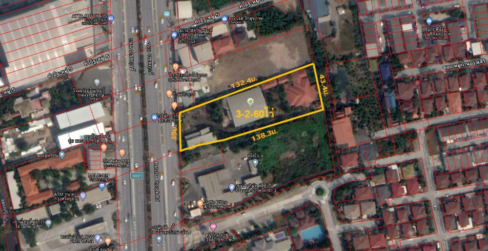 For SaleLandBangkruai, Ratchapruek : Land for sale on Ratchaphruek Road, Golden location