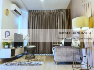 For SaleCondoRattanathibet, Sanambinna : Condo for sale, ready to move in. Knightsbridge, Tiwanon, Knightsbridge Tiwanon, next to MRT Ministry of Public Health, 43 sqm., 2 bedrooms, fully furnished 4.39 million