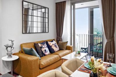 For RentCondoSukhumvit, Asoke, Thonglor : ++Urgent rent ++ Ashton Morph 38** 2 bedrooms 56.5 sq m, 13th floor, fully furnished, can raise pets